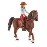 Schleich - Horse club - Hannah en Cayenne - 42539