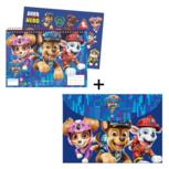 Color Wonder - Paw Patrol - Malbuch mit 5 schmutzfreien Filzstiften