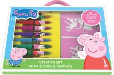 Peppa Pig Blow Pen Vorlagen Set