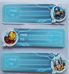 The Avengers 3D cadeau stickers