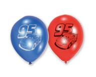 Cars ballonnen, 6 st