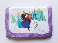 Frozen portemonnee met paarse rand