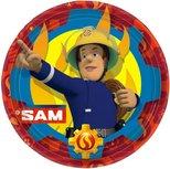 Brandweerman Sam bordjes, karton  8st