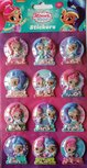 Shimmer and Shine 3D kerst stickers