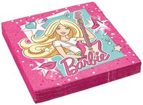 Barbie servetten Rockster