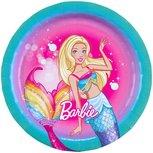 Barbie feest bordjes Dreamtopia