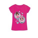 LOL Surprise t-shirt donker roze Fancy
