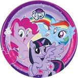 My little pony kartonnen feest bordjes, 18 cm