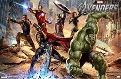 Avengers maxi poster