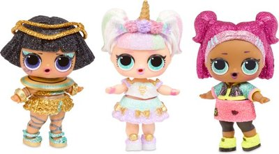 LOL Surprise Doll Sparkle, serie A