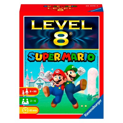Super Mario Bros kaartspel level 8
