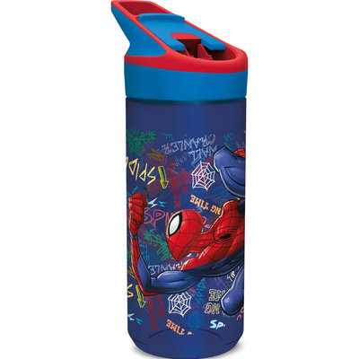 Spiderman broodtrommel met Tritan drinkfles