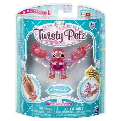 Twisty petz Glitzmo Parrot, serie 3