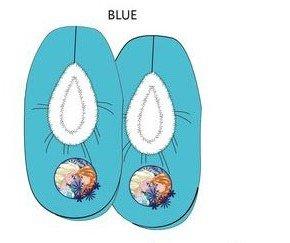 Frozen sloffen - blauw