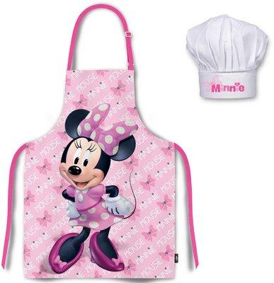Minnie Mouse kookschort met koksmuts