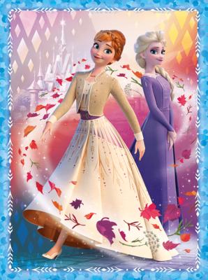 Frozen 2 - 2 x puzzel  en 1 x  memo