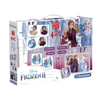 Frozen 2 - 4 in 1 speelset