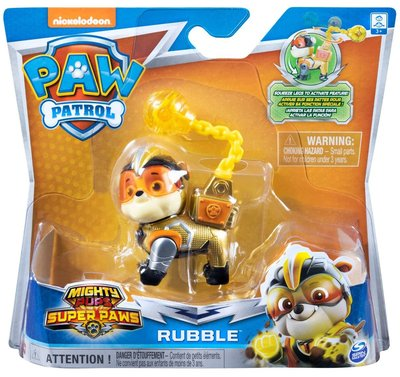 Paw Patrol Rubble - mighty pups