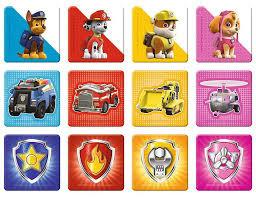 Paw Patrol 2 - 2 x puzzel  en 1 x  memo