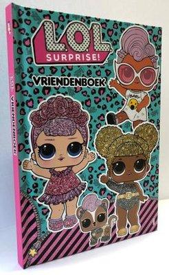 LOL Surprise vriendenboek - glitter