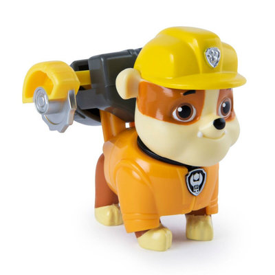 Paw Patrol Rubble- action pack pup en accessoires