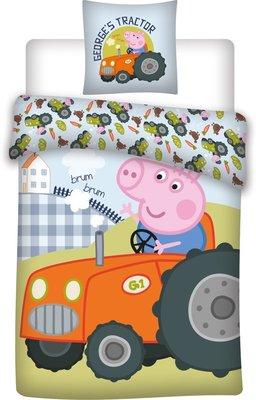 Peppa Pig peuter dekbedovertrek -  George