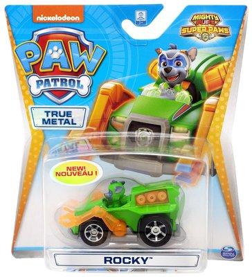 Paw Patrol Die cast voertuig -  Mighty Rocky - 7 cm