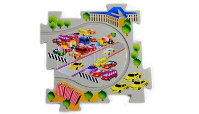 Puzzle Pilot - puzzel politie set met auto