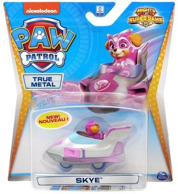 Paw Patrol Die cast voertuig -  Mighty Skye - 7 cm