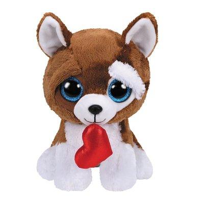 Ty Beanie Boo's  Valentijn Smootches, 15 cm