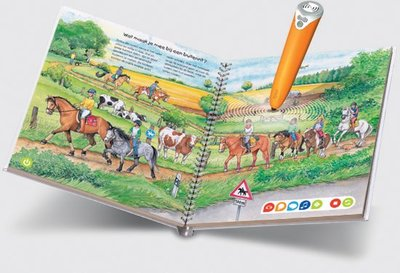 Tiptoi boek - De wereld van de paarden en pony's