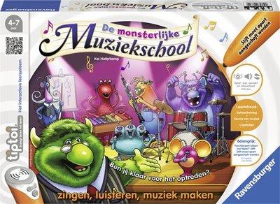 Tiptoi spel- Monsterlijke muziekschool
