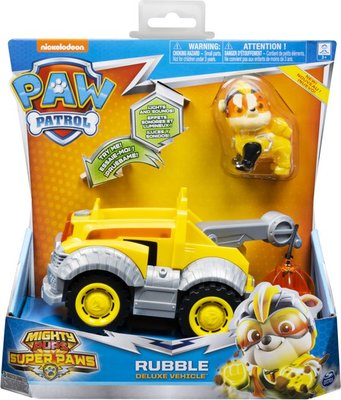 Paw Patrol Rubble cruiser - mighty pups/ mega pups