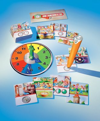 Tiptoi spel- De klok rond + stift