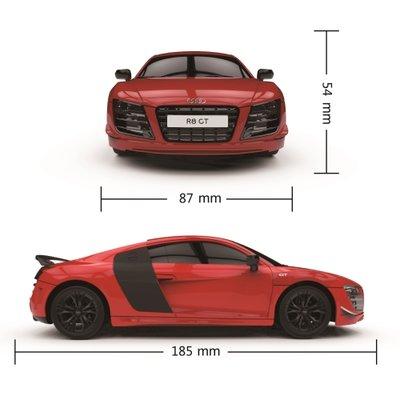 Afstand bestuurbare auto - Audi R8 GT - 1:24 - rood