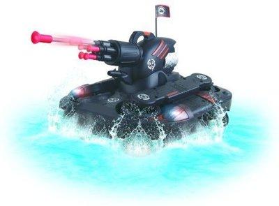 Wonky Cars - Amfibie tank - bestuurbare RC auto - 2.4 GHz
