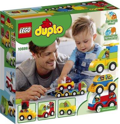 Lego Duplo - Mijn Eerste Auto Creaties - 10886