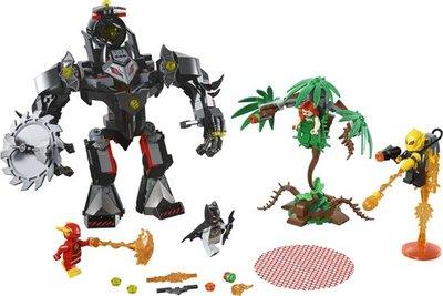 LEGO Batman Mecha vs. Poison Ivy Mecha - 76117