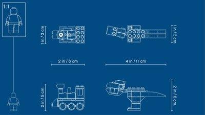 LEGO Classic - Stenen en Ideeën - 11001