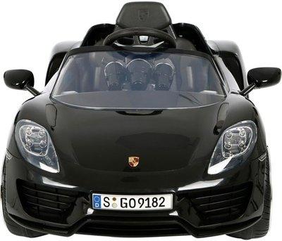 Rollplay Porsche 918 Spider Accuvoertuig 6 Volt Zwart