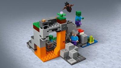 LEGO Minecraft - De Zombiegrot - 21141