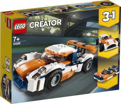 LEGO Creator -  Zonsondergang Baanracer - 31089
