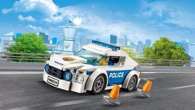 Lego City - Politiepatrouille Auto - 60239