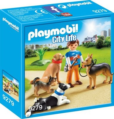 Playmobil City Life - Honden Begeleider - 9279