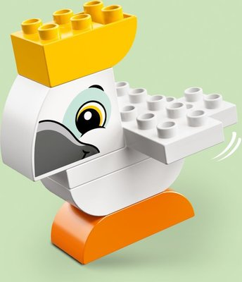 Lego Duplo - Mijn Eerste Dier Opbergdoos - 10863