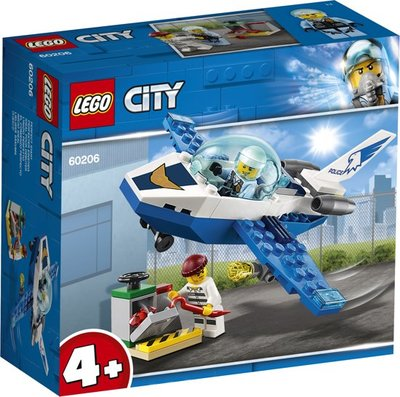 Lego City - Luchtpolitie Vliegtuigpatrouille - 60206