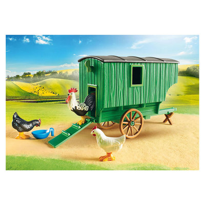 Playmobil Country - Kind met kippenhok - 70138