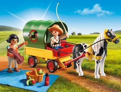 Playmobil Country - Picknick met ponywagen - 6948