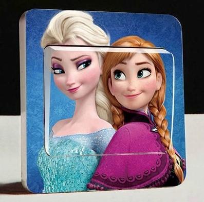 Frozen lichtschakelaar sticker