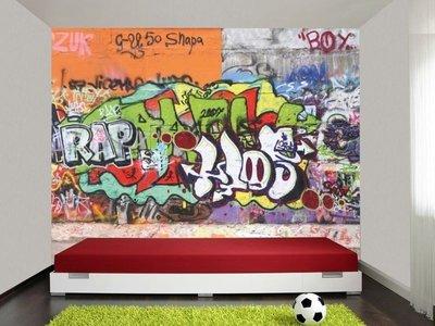 Fotobehang graffiti kt26